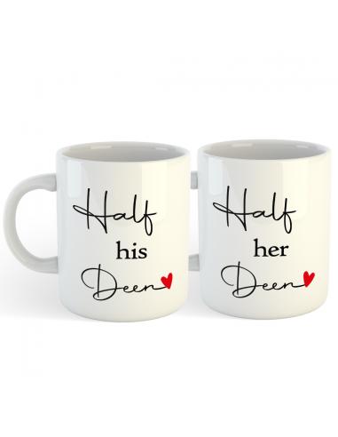 His and Her Deen - set mokken