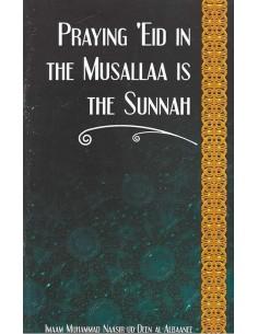 Praying Eid in the Musallaa...
